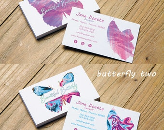 Butterfly Business card Design