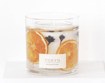 The Botanical Collection ~ Minabé Yuzu Citrus - Hand-Poured Scented Candle - Gift