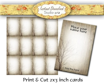 Earring Display, Earring Cards, Printable Cards, Jewelry Cards, Necklace Cards, Nature Graphics, DIY Printables