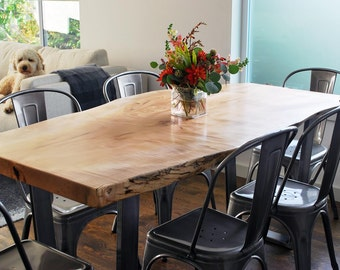 Your CUSTOM Small/medium DINING TABLE   Natural   Modern   Charming