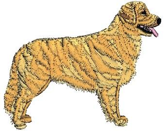 Golden Retriever Dog Embroidered Towels, Dog Towels, Personalised Towels, Golden Retriever 2