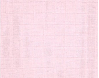 Baby Pink Double Gauze swaddle fabric