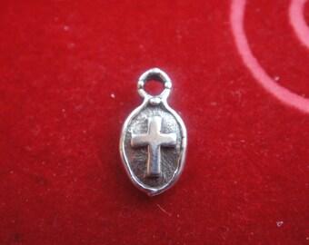 925 sterling silver Cross Pendant Charm -l cross,small cross, cross, silver cross