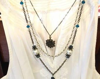 3 tier necklace