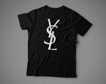 YSL, T-shirt, 100% cotton, for woman style, unisex style