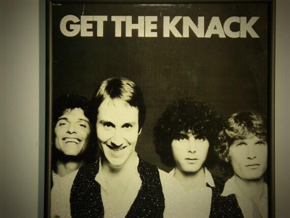 Glittered Record Album - The Knack - Get The Knack