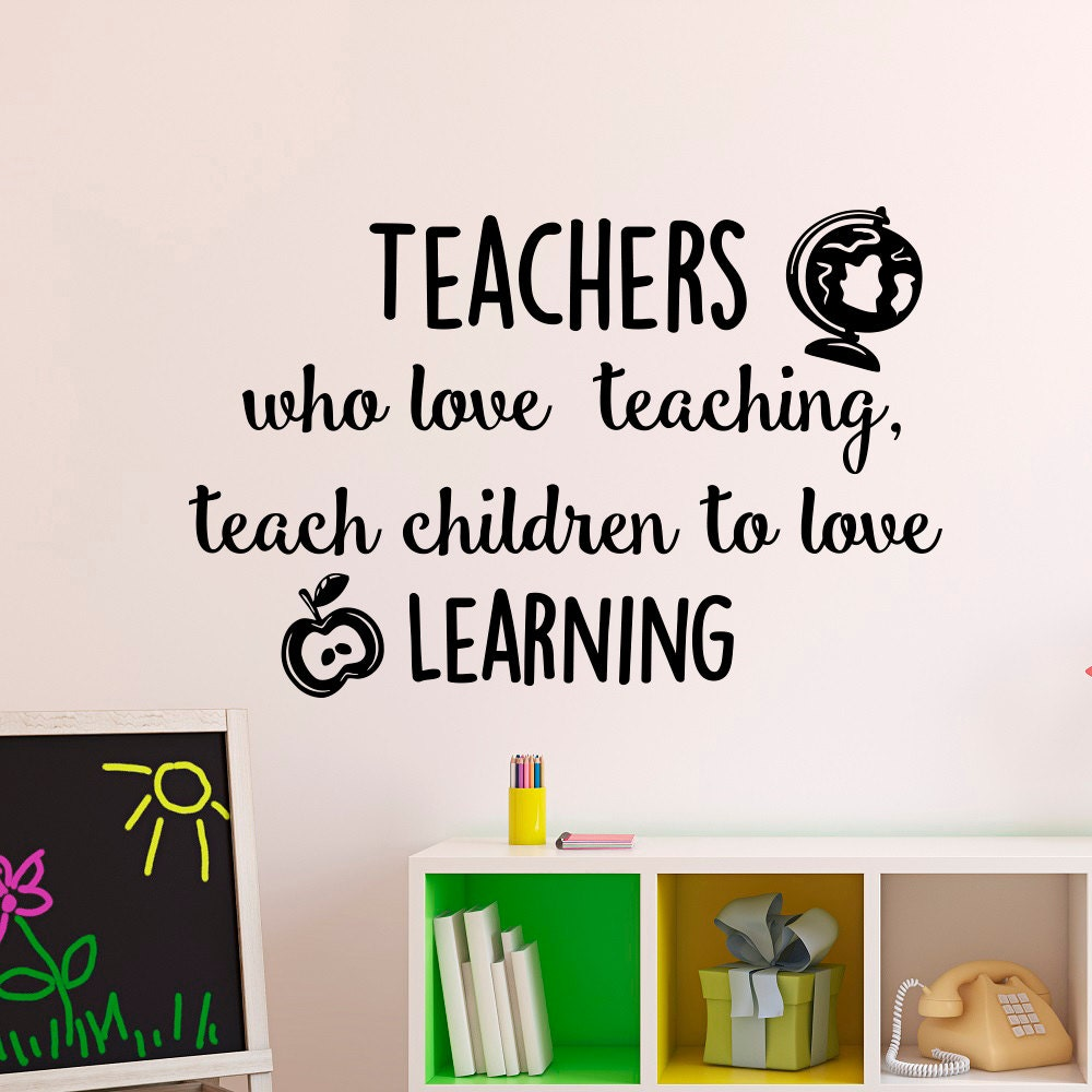 Lovely Teacher Quotes: Education Quotes Teachers Who Love Teaching Teach Children To
