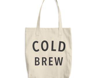 Cold Brew - Cotton Tote Bag