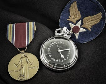 WWII Era Hamilton USAAF Navigators Pocket Watch