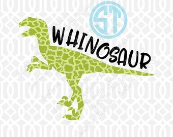 Whinosaur Boy Sublimation Heat Transfer Pre Made DIY Iron On Personalized HTV Vinyl Choose