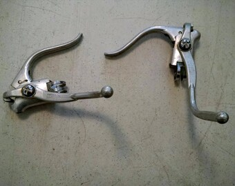 Dia-Compe Bicycle dual brake levers