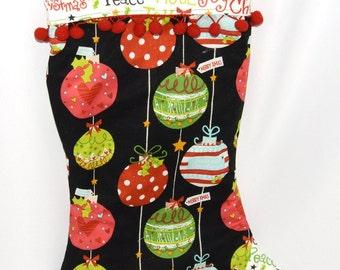 Christmas Stocking, Christmas Decor