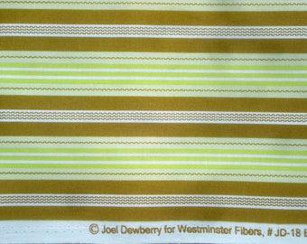 Aviary Joel Dewberry Broad Stripe green FQ or more oop htf