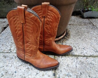 """Vintage  Santiags ,women or men country  boots  """",boots """"Western"""","""
