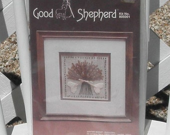 Winter Wheat Embroidery Kit