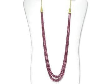 ruby necklace genuine ruby jewelry