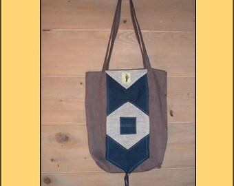 "FOLDING shopping bag ""Blue"""