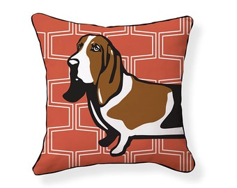Basset Hound Pillow/Brick