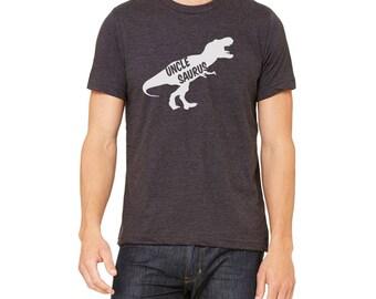 Unclesaurus Shirt - Dinosaur T Shirt - Uncle saurus Rex - Gift For Uncle - Uncle To Be Shirt - uncle reveal shirt - New Uncle Shirt
