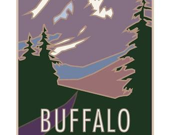 Buffalo Mountain Colorado Poster
