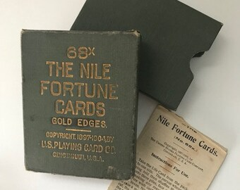 The Nile Fortune Cards | US Playing Card Co. | 1897-1904