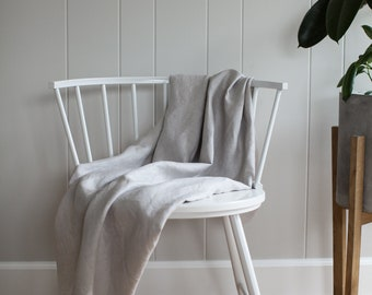 Naturally Dyed Linen Fabric, by the yard | handmade, plant-dyed, natural, yardage, craft, sewing, clothing, home.