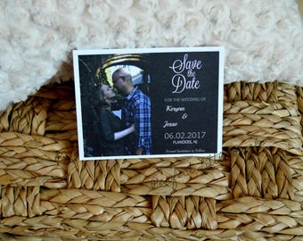 Custom Wedding Save The Date, Digital File