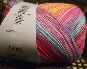 Lang Jawoll Magic 6 PLY Superwash sock (and not only) yarn