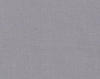 Kona Cotton in Pewter - Robert Kaufman (K001-1470)
