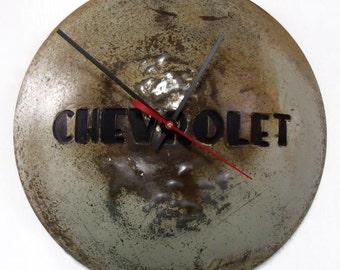 1947 - 1954 Chevy Truck Wall Clock - Chevrolet Pickup Hubcap - Automotive Hub Cap - 1948 1949 1950 1951 1952 1953