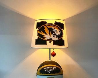 Missouri Tigers Lamp, Mizzou Basketball Light, NCAA Basketball, Basketball  Lamp, March Madness