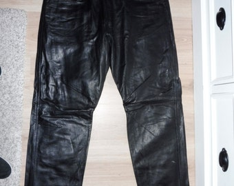 Leather size 44 pants