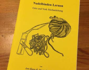 Learn needle Binding-the Oslo engraving, by Maria Lind-Heel (self-published)
