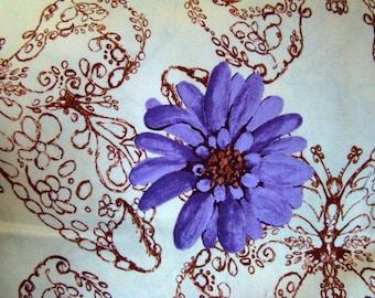 Tina Givens Treetop Fancy Huckleberry Raisin Fabric Last Yard