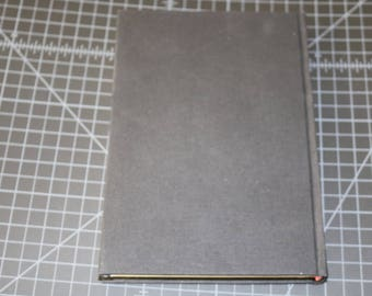 Handmade Journal Black Bookcloth Blank Pages 6X8