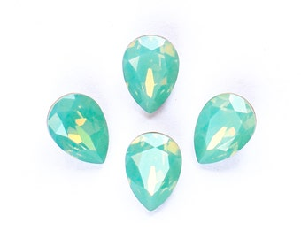 14x10mm PACIFIC OPAL Swarovski Pear Fancy Stones Article 4320