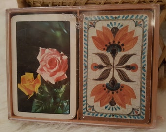 Vintage Playing Cards- Hallmark- Old World Charm- 1970's