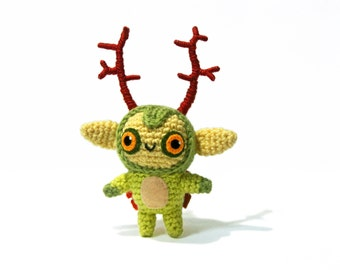 Forest Spirit - Amigurumi - crochet pattern