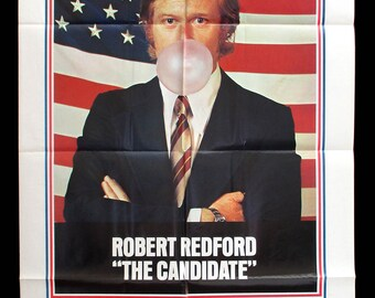 ROBERT REDFORD The CANDIDATE original 1972 movie poster