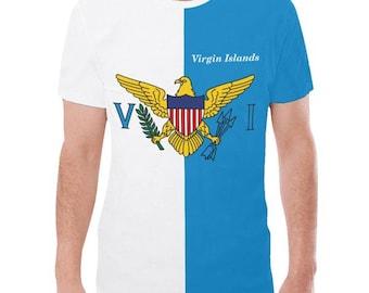 Virgin Islands Men's Flag Tee