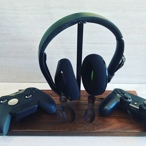 Xbox One Controller Holder with Headphone Hanger (2 Controller)
