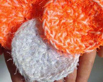 Handmade Crochet Face Scrubbies