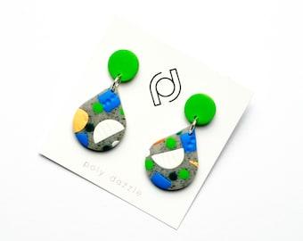 Polymer Clay Earrings - Evangaline