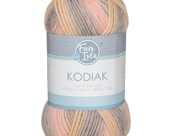Drift Fair Isle Kodiak Space Dye Yarn Wool (Pre-Order)