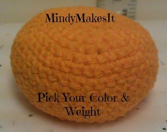 Hacky Sack, Solid Colors (Footbag, Hackey Sack, Hackysack, Stress Ball, Juggling Ball, Bean bag, Amigurumi sphere, game, toy) MindyMakesIt