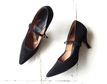 Mary Jane Heels | 1950s Shoes | Stiletto Heels | Size 6 1/2