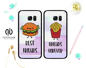 Best Friends Case For Samsung S9, iPhone X, iPhone 8, 8 Plus, iPhone 7, iPhone 6S, Samsung S9 Plus, Samsung S8, S8 Plus, Samsung J5 & Note 8