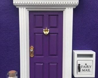 Fairy Door, Mailbox & Pixie Dust - Glitter 'Grape Juice PURPLE'