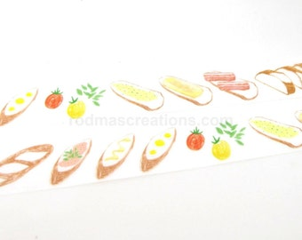 Baguette Masking Tape, Baguette Washi Tape - Green Flash
