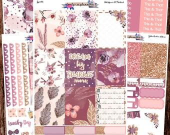 VERTICAL KIT, Sparkle, Weekly Sticker Kit, Erin Condren, EC Vertical, Planner Stickers, Sticker Kit